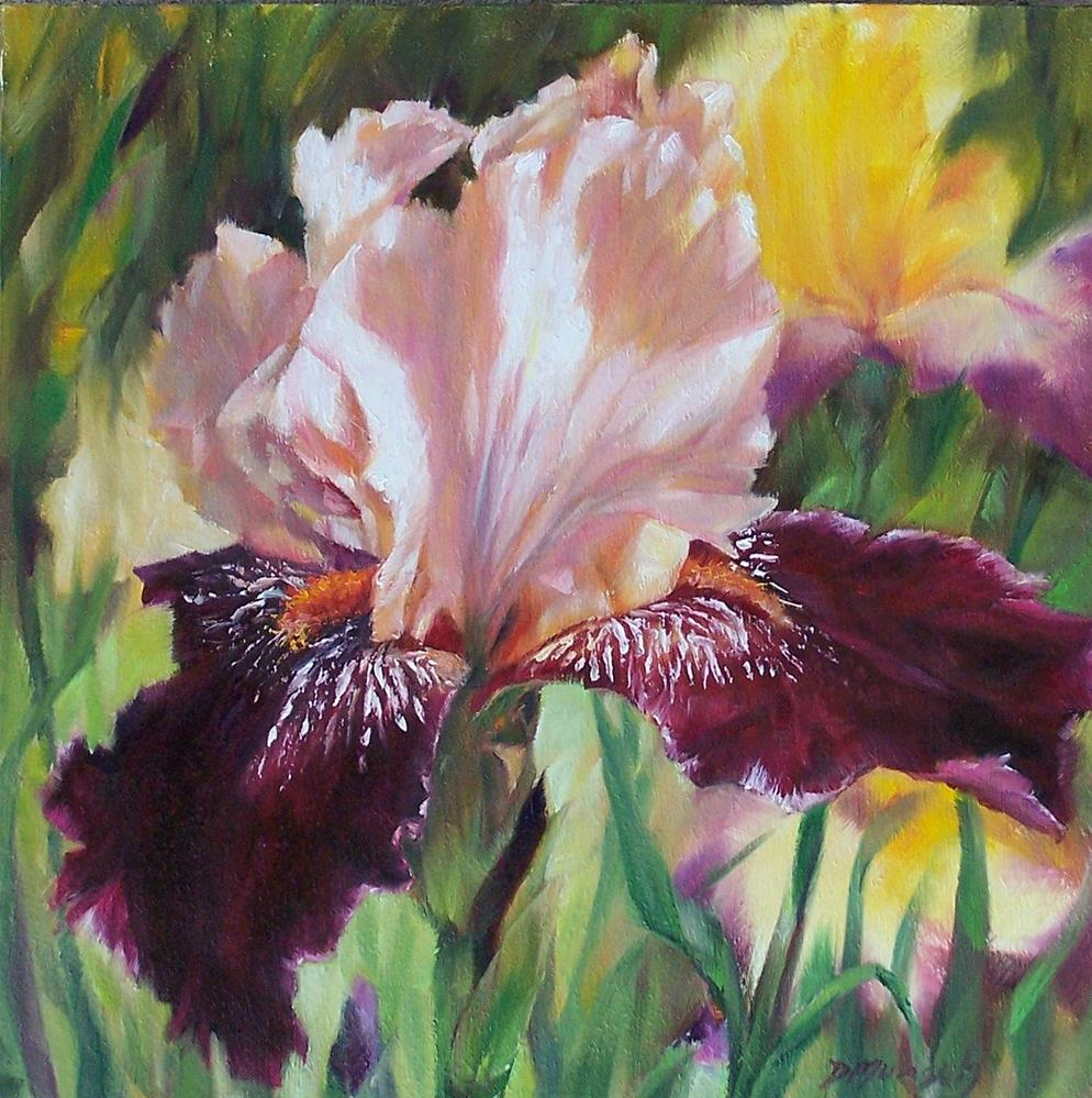 """Royal Iris"" original fine art by Donna Munsch"