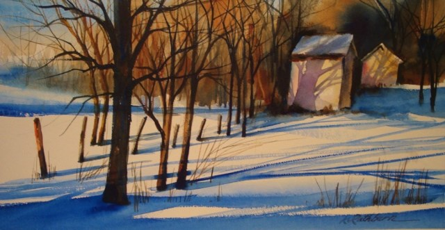 """Jack's Place"" original fine art by Kathy Los-Rathburn"