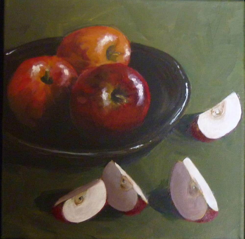 """Trio Plus Quartet"" original fine art by Helene Adamson"