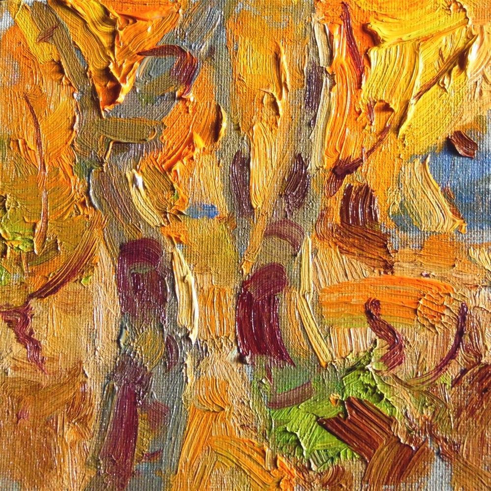 """Aspen Dance "" original fine art by Michael Clark"