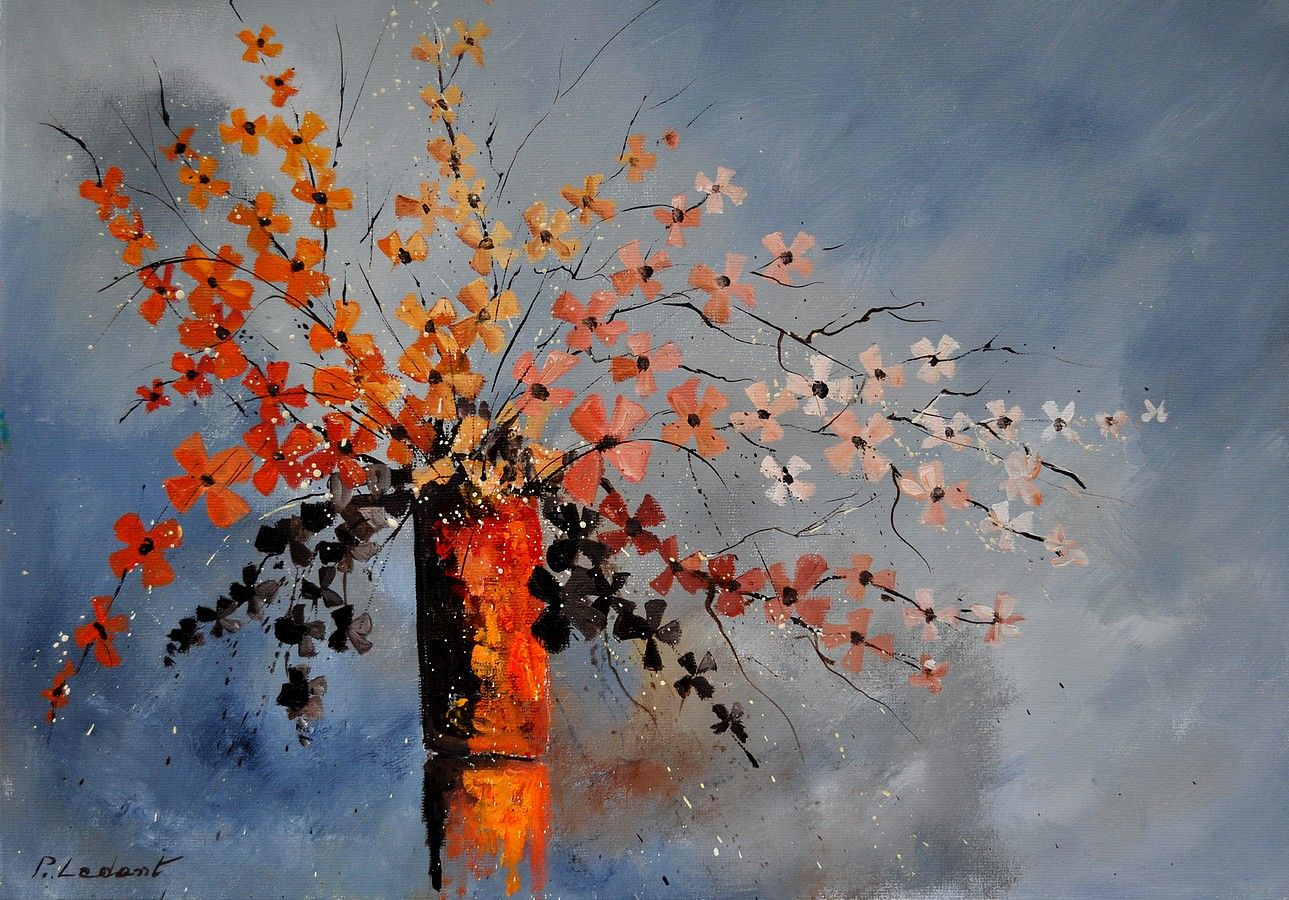 """still life"" original fine art by Pol Ledent"