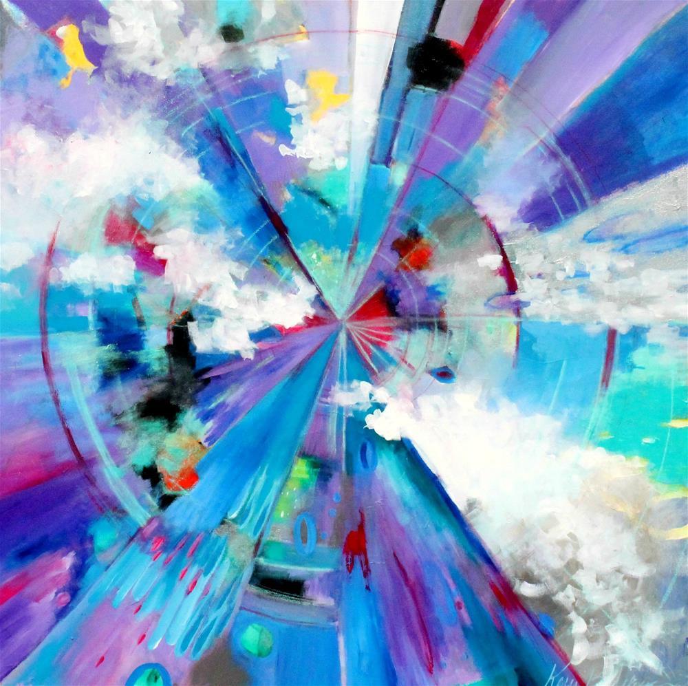 """Into Focus"" original fine art by Kerri Blackman"