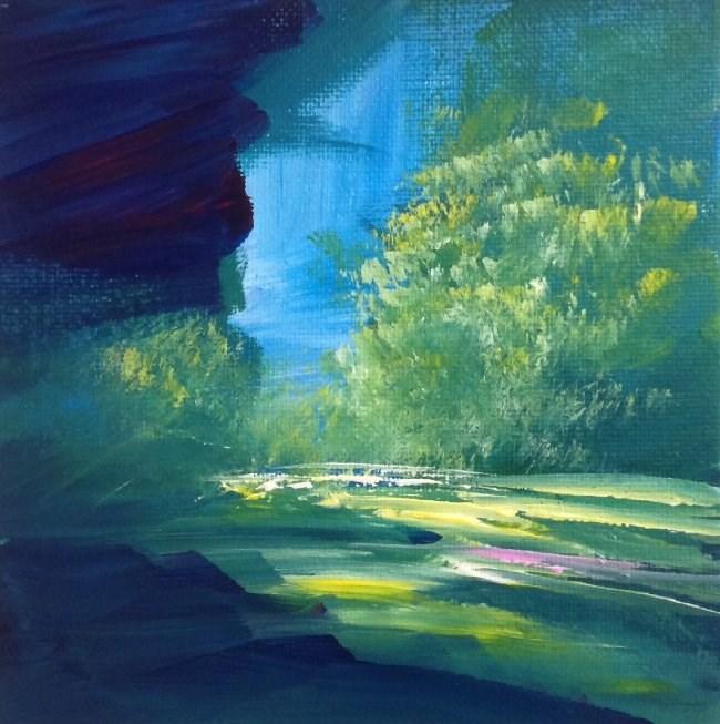 """Perhaps at Last"" original fine art by David Kuhn"