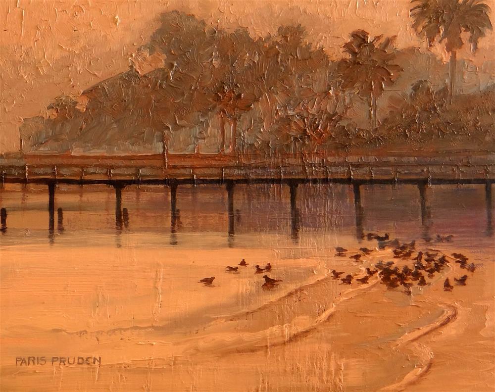 """Kemah at Dawn"" original fine art by Nancy Paris Pruden"