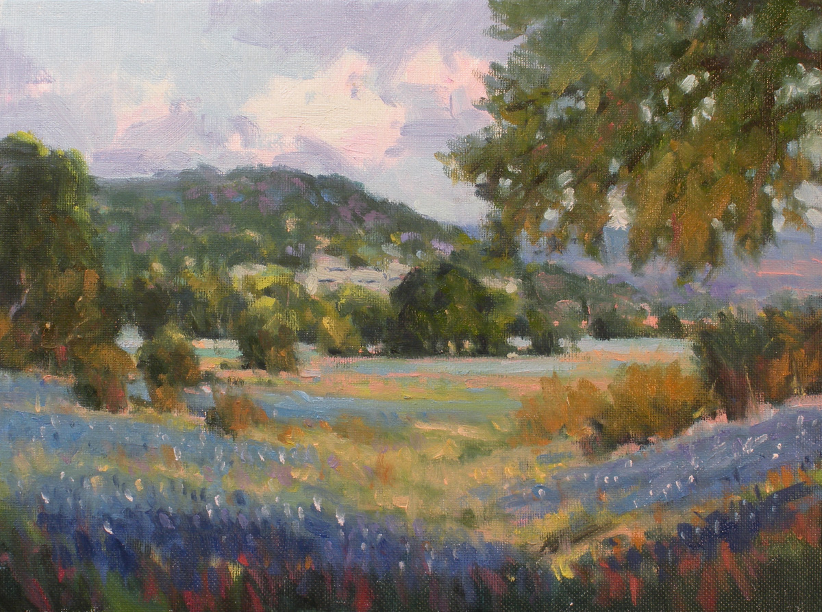 """A Spring Day"" original fine art by David Forks"