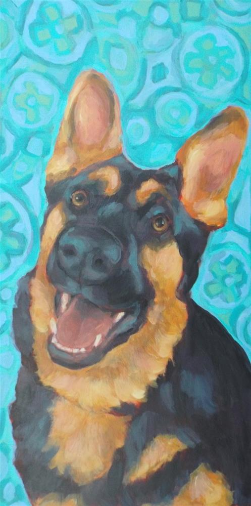 """Addie"" original fine art by Kathy Hiserman"