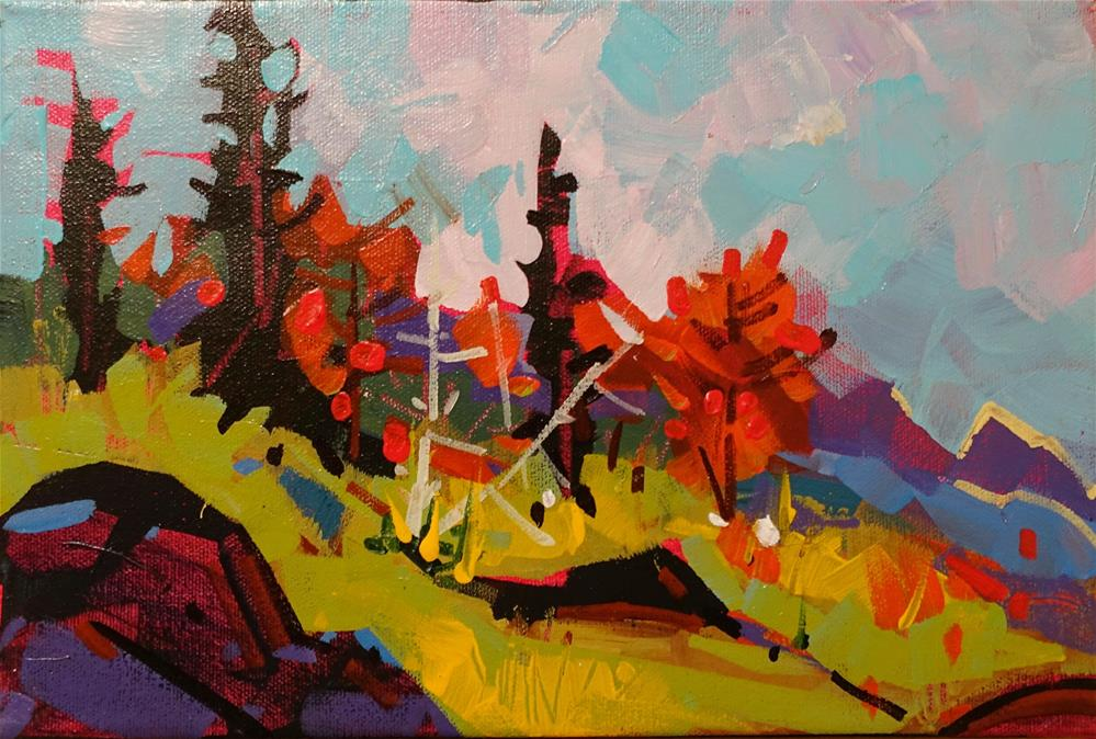"""September Meadows"" original fine art by Brian Buckrell"