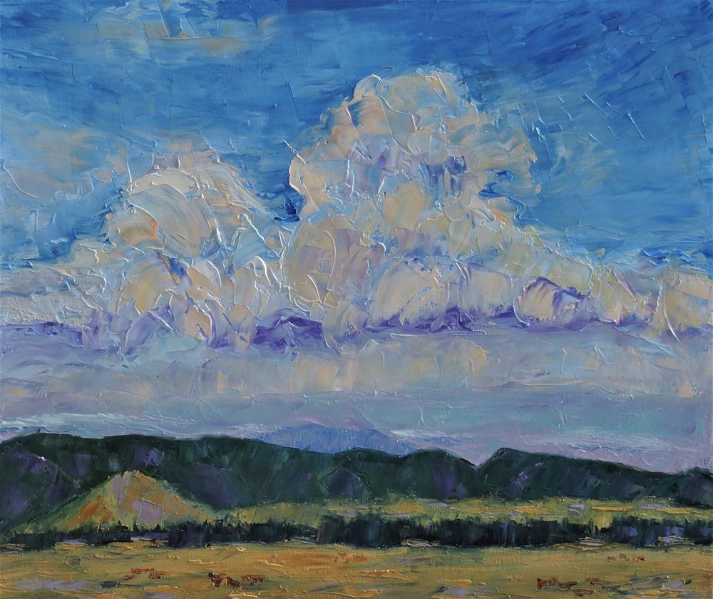 """Big Sky Country"" original fine art by Linda mooney"