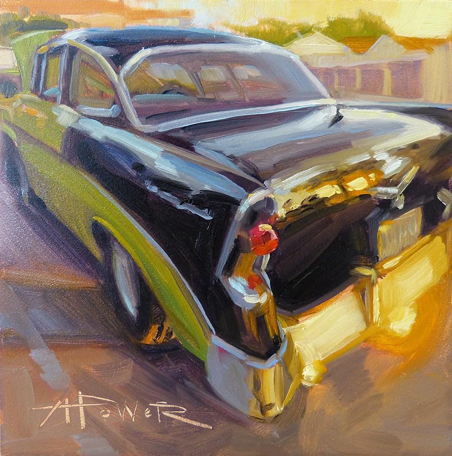 """Classic Sparkle"" original fine art by Anette Power"