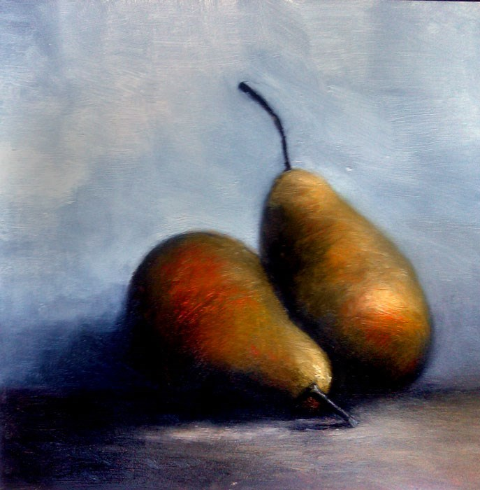 """Pears"" original fine art by Bob Kimball"
