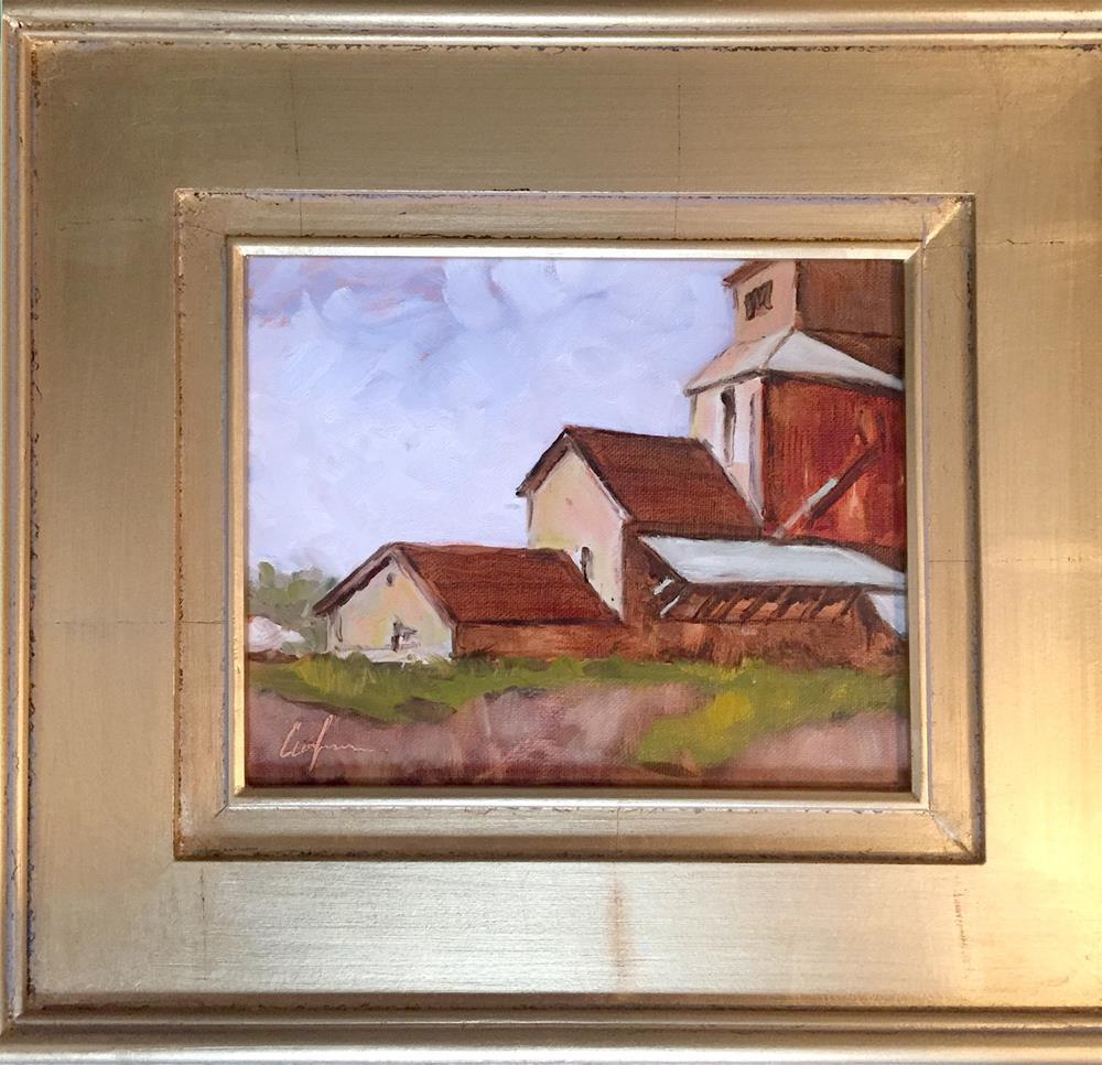 """Saginaw Mill"" original fine art by Cornelis vanSpronsen"