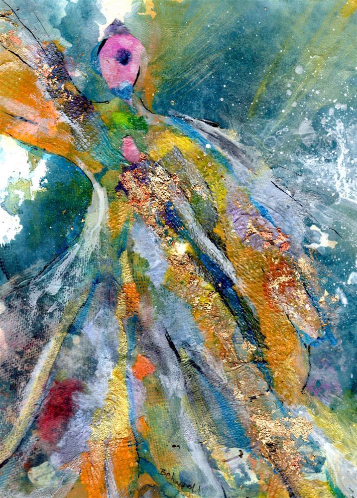 """""""Goddess"""" original fine art by Becky Chappell"""