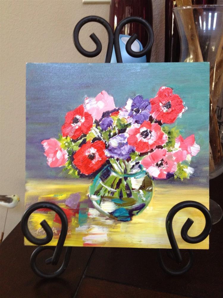 """""""Lovely"""" original fine art by Lisa Fu"""