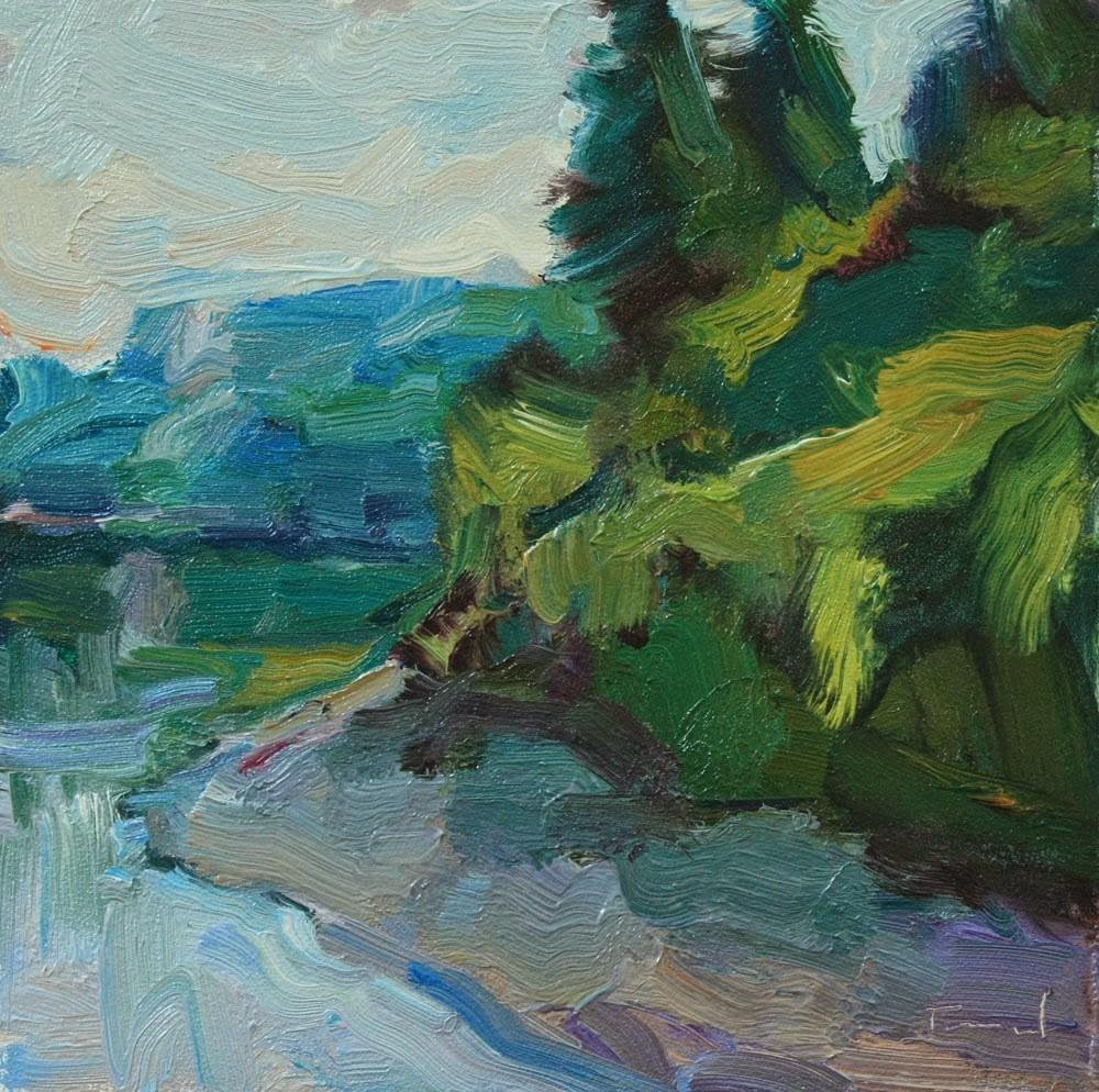 """Zangle Tideland"" original fine art by Kathryn Townsend"