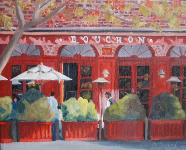 """Bouchon"" original fine art by Jeanette Baird"