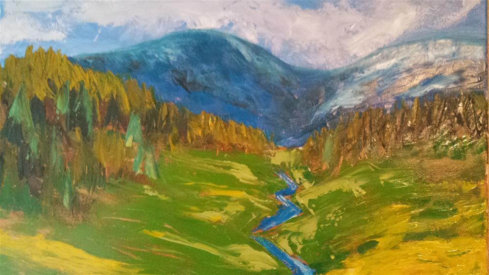 """Oregon Landscape"" original fine art by Tracy Wilkerson"