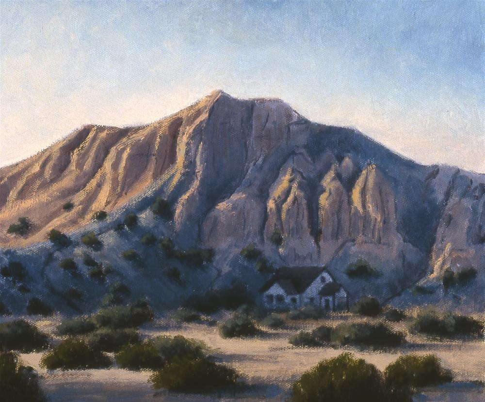 """""""January,New Mexico"""" original fine art by Janet Broussard"""