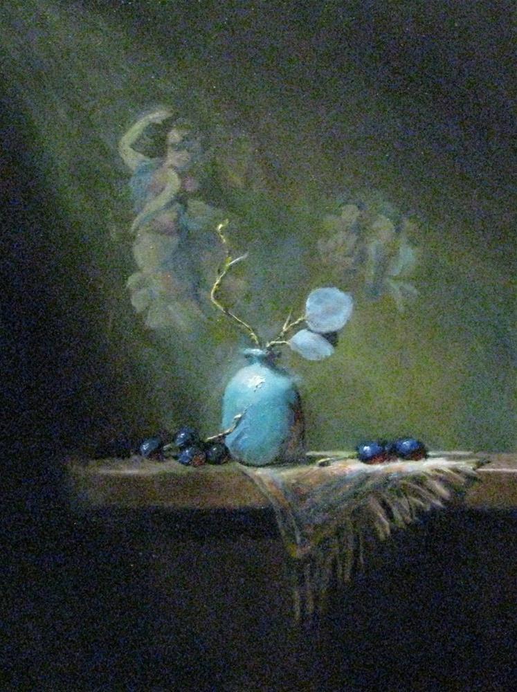 """""""Light upon composition"""" original fine art by tom dawson"""