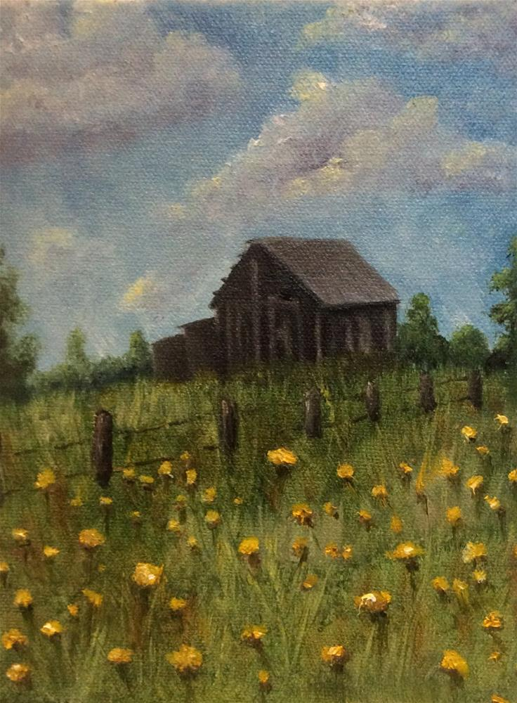 """Abandoned"" original fine art by Susan Hoffheimer"