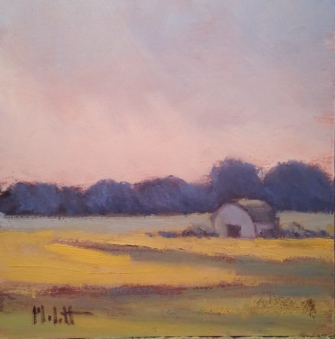 """Early Morning"" original fine art by Heidi Malott"