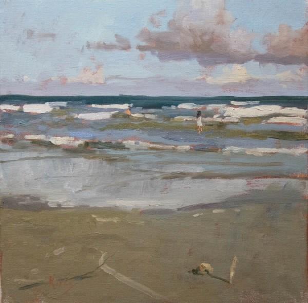 """Spirit Beach"" original fine art by Randall Cogburn"