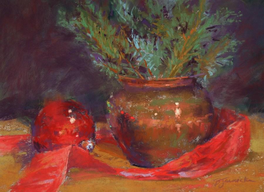"""Holiday Prep III"" original fine art by Barbara Jaenicke"