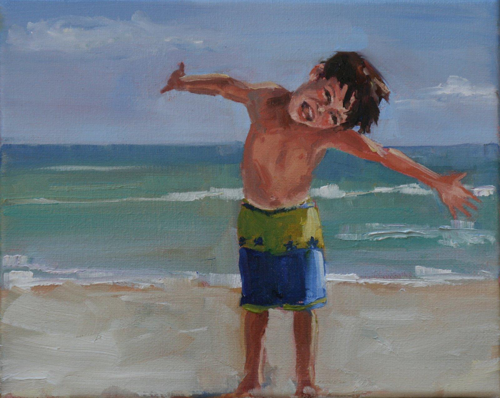 """Lee"" original fine art by Carol Carmichael"