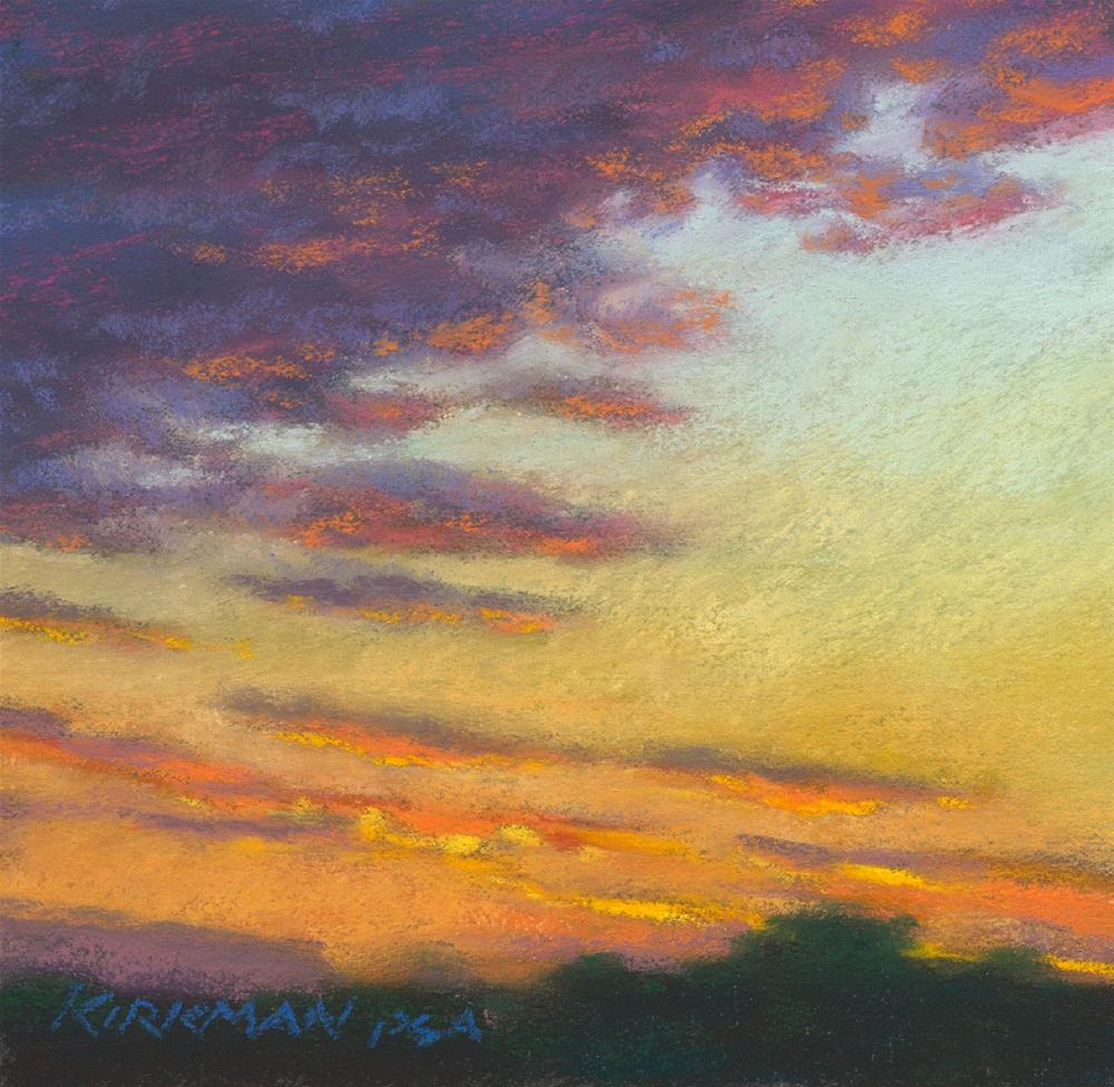 """Sunset #52"" original fine art by Rita Kirkman"