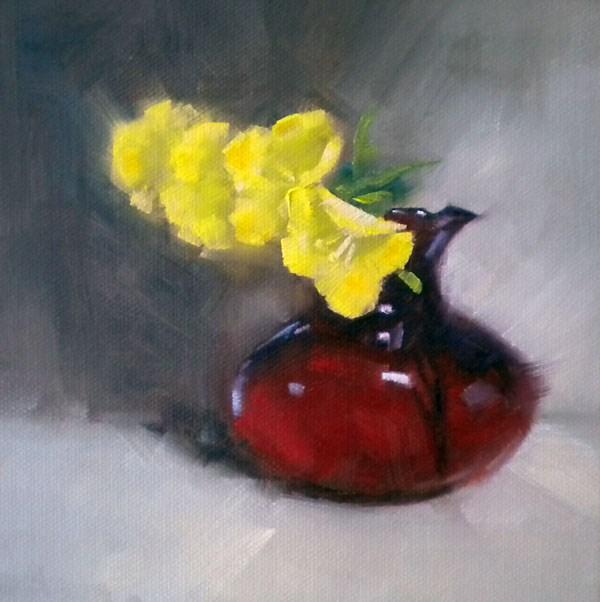 """Wildflowers"" original fine art by Darla McDowell"