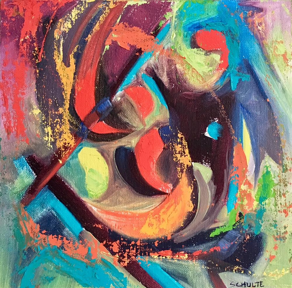 """Color Dance"" original fine art by Lynne Schulte"