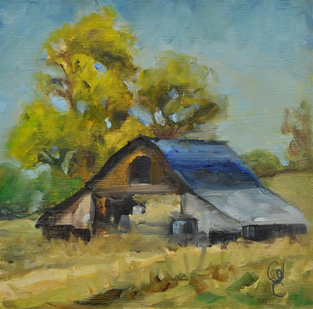 """Rallison Homestead"" original fine art by Catherine Crookston"
