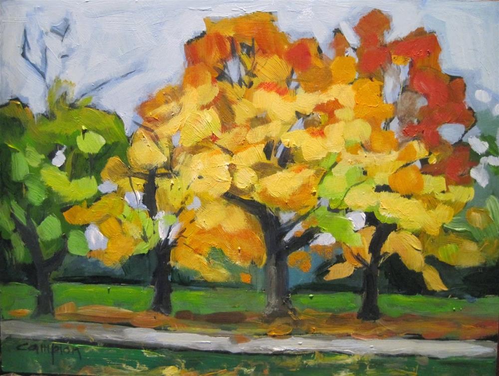 """490 Big Bay Landscape"" original fine art by Diane Campion"