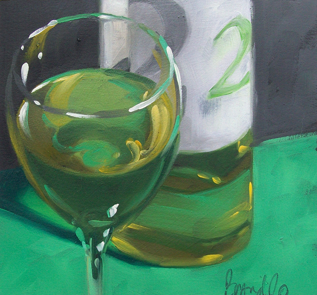 """wino7"" original fine art by Brandi Bowman"