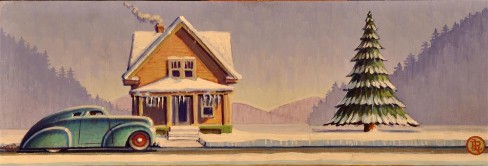 """Frost"" original fine art by Robert LaDuke"