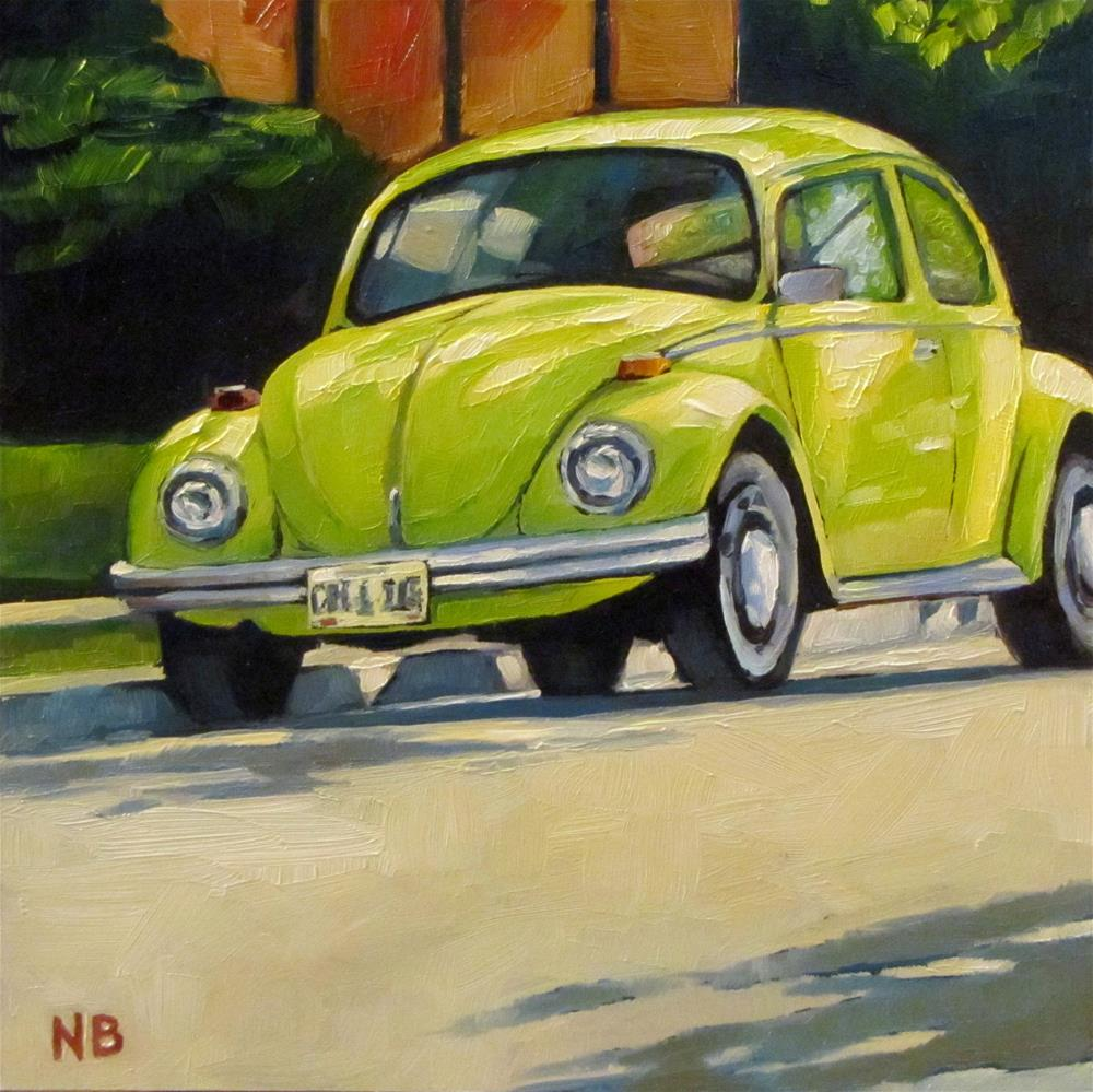 """Shady Bug"" original fine art by Nora Bergman"