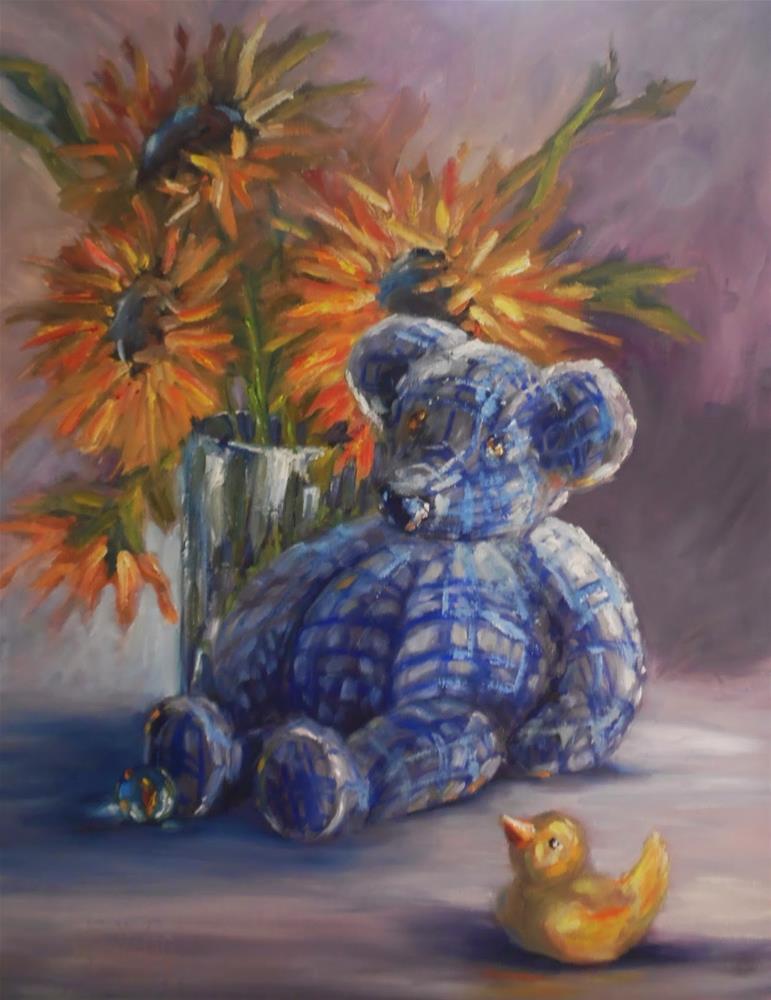 """Soon We Will Be Loved still life painting by Alabama Artist Angela Sullivan"" original fine art by Angela Sullivan"