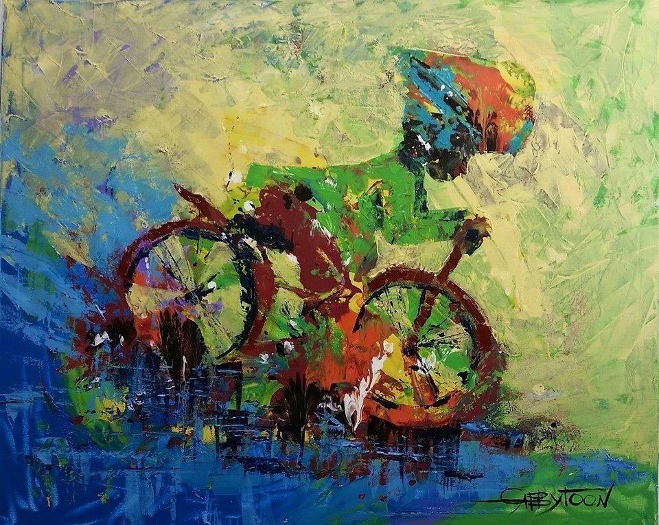 """After The Rain"" original fine art by Gabriella DeLamater"