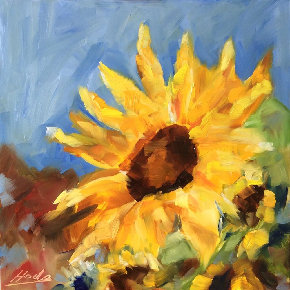 """Sunny"" original fine art by Hoda Nicholas"