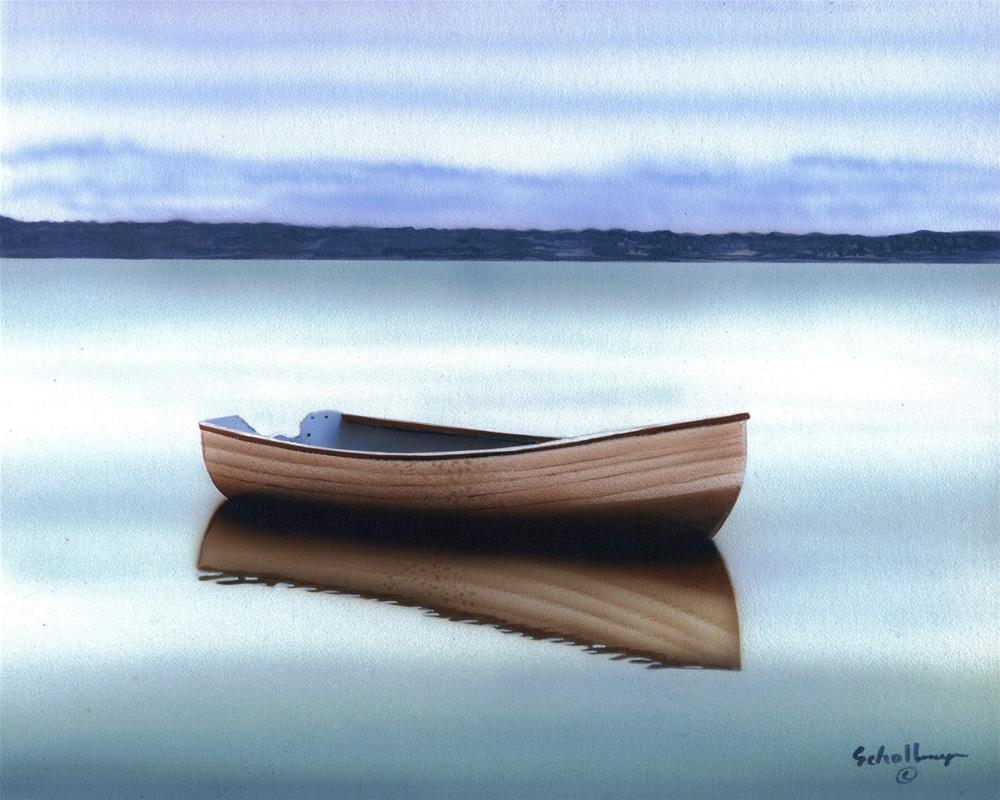 """Tranquil Reflections"" original fine art by Fred Schollmeyer"