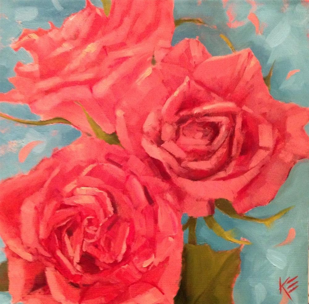 """Lovely"" original fine art by Krista Eaton"