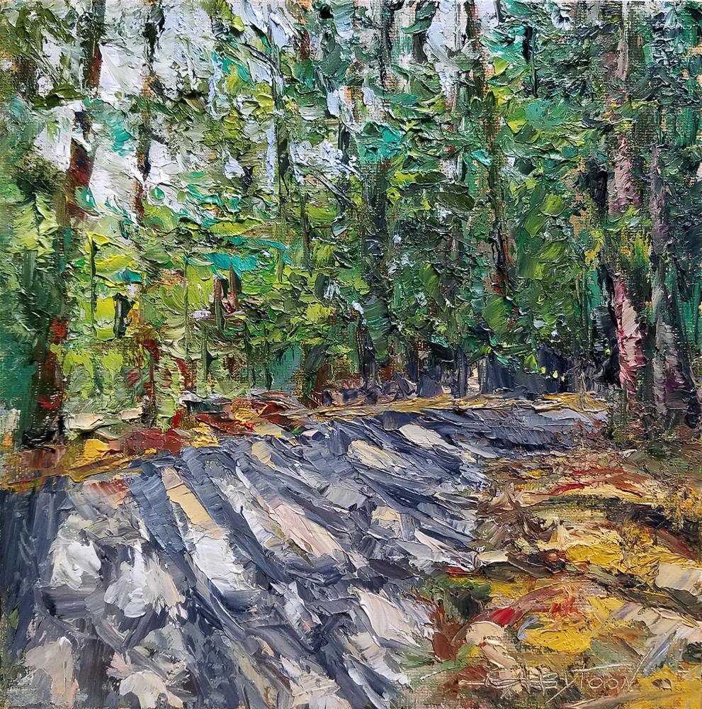 """Landscape 5"" original fine art by Gabriella DeLamater"