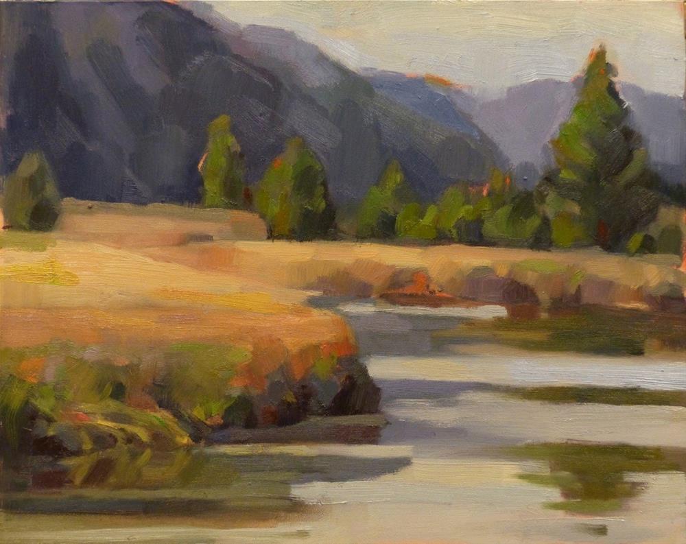 """Salt Creek"" original fine art by Katya Minkina"