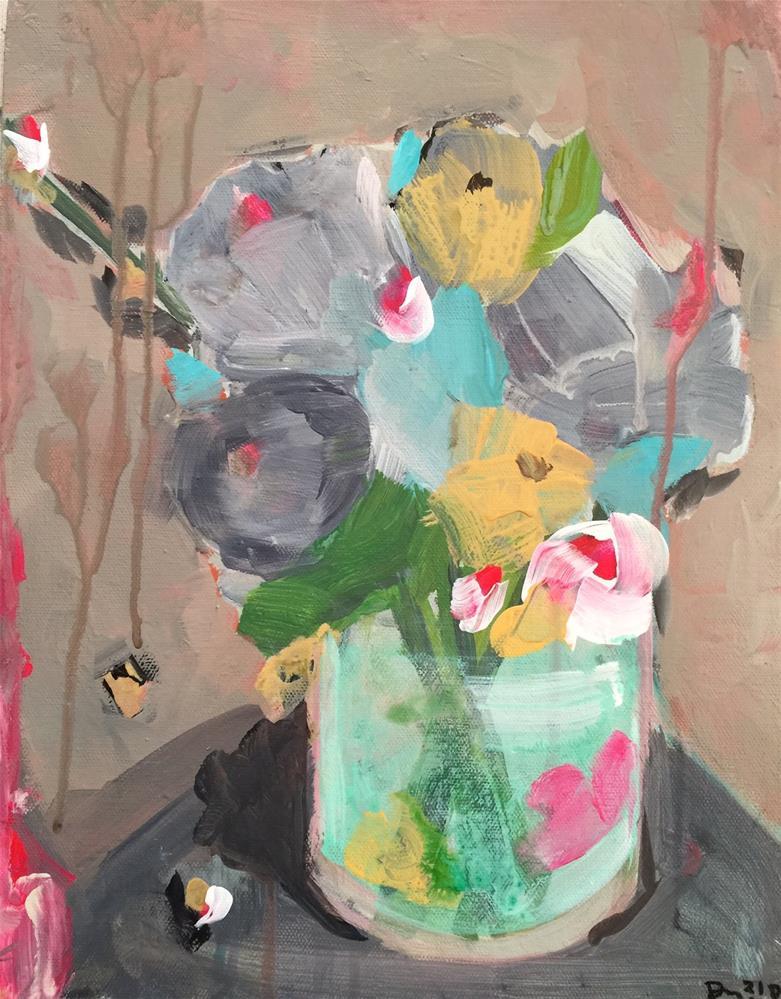 """57 One of Us"" original fine art by Jenny Doh"