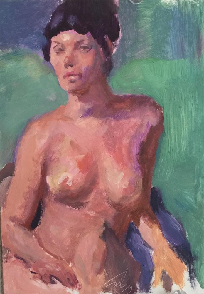 """""""Miranda"""" original fine art by Farley Craig"""