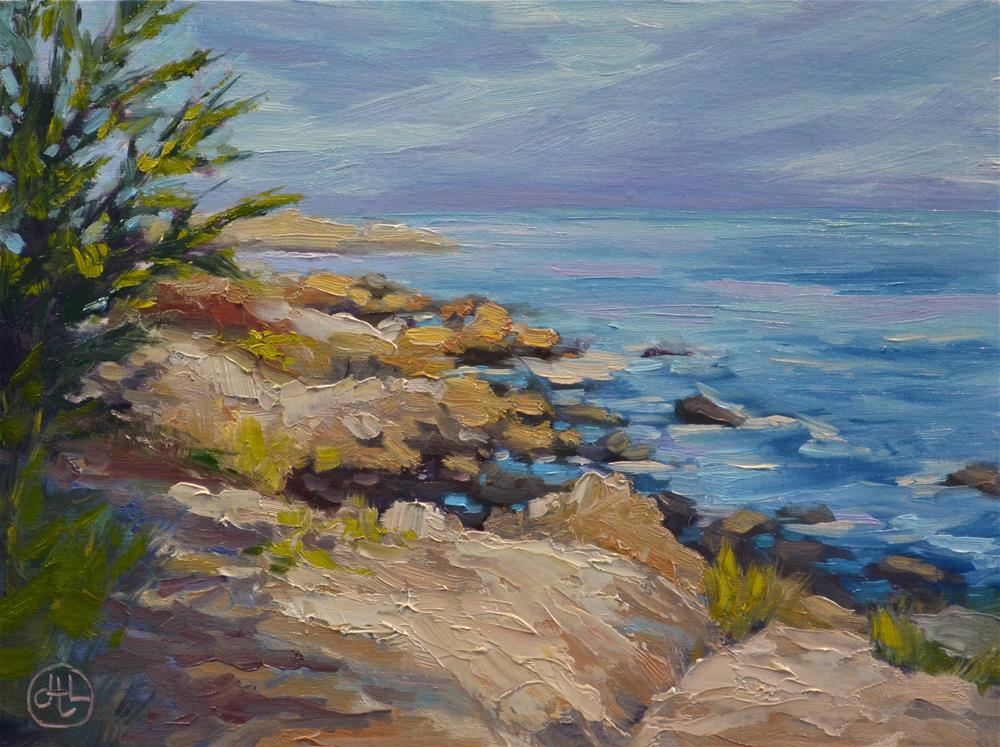 """the overlook"" original fine art by Dottie  T  Leatherwood"