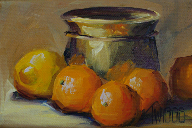 """Clems & Lems"" original fine art by Lori Twiggs"