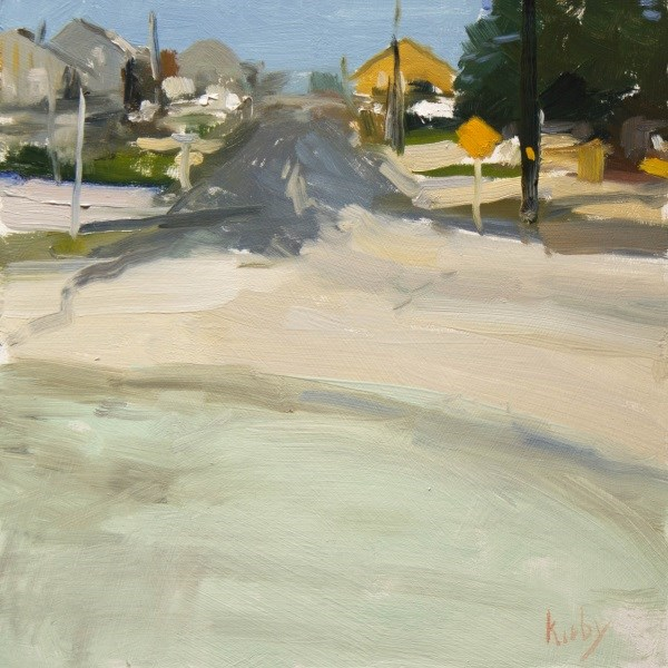 """Bay Road"" original fine art by Randall Cogburn"