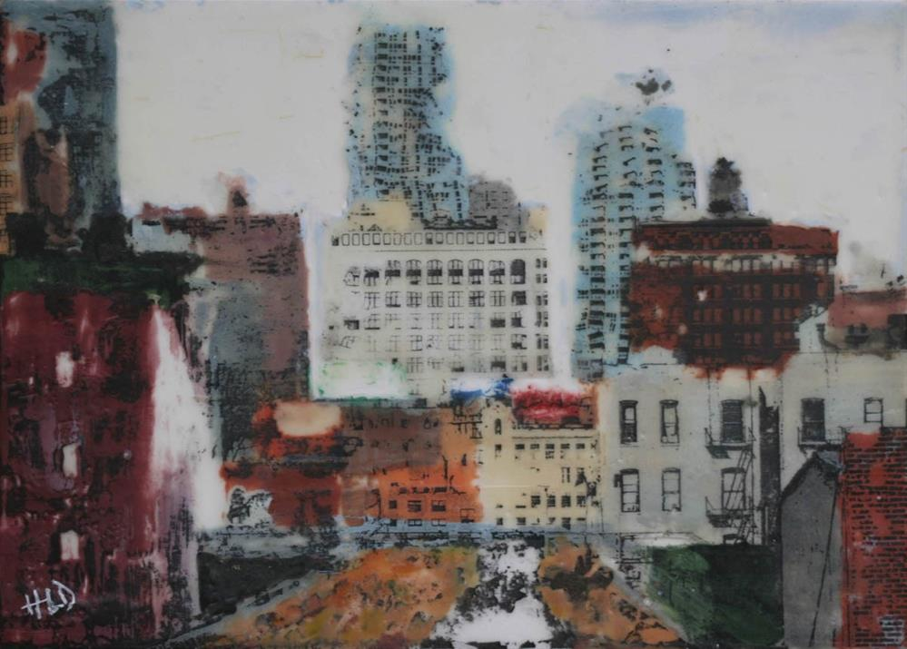"""High Line View"" original fine art by Heather Douglas"