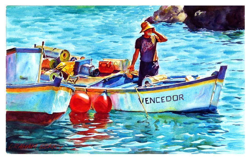 """""""Vencedor"""" original fine art by Graham Berry"""
