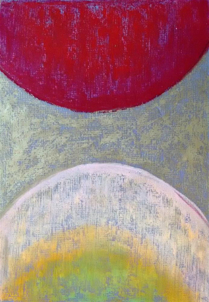 """Planets"" original fine art by Adéla Svobodová"